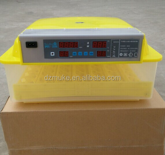 China manufacturer supply 56 egg mini incubator/56 eggs hatching machine