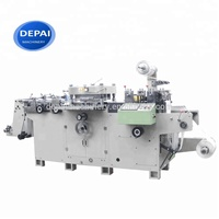 Automatic Roll to Roll Sheet Self Adhesive Label Die Cutting Machine