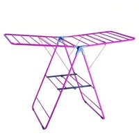Foldable Wing baby clothes hanger rack