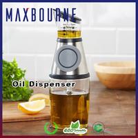 hotselling 17oz press pump glass bottle Oil Dispenser with measured