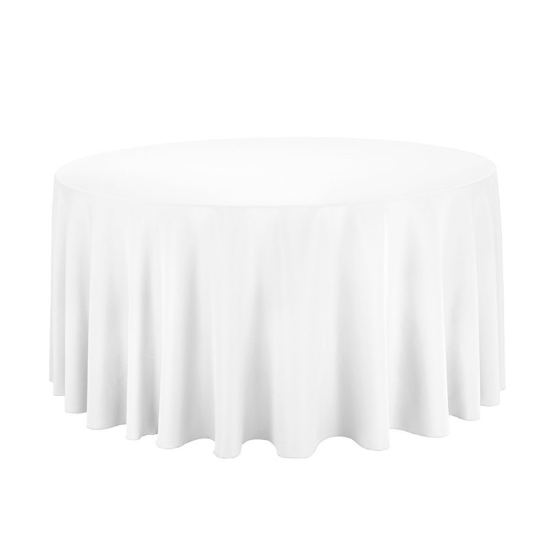 unids boda ronda manteles blancos hotel de polister manteles cocktail party ropa de mesa de