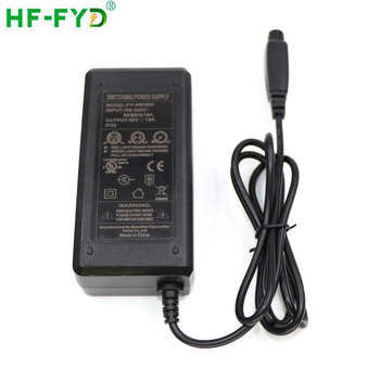 Input 100v 240v Dc Battery Charger 42 Volt 1 5 Amp Switching Adapter 42v