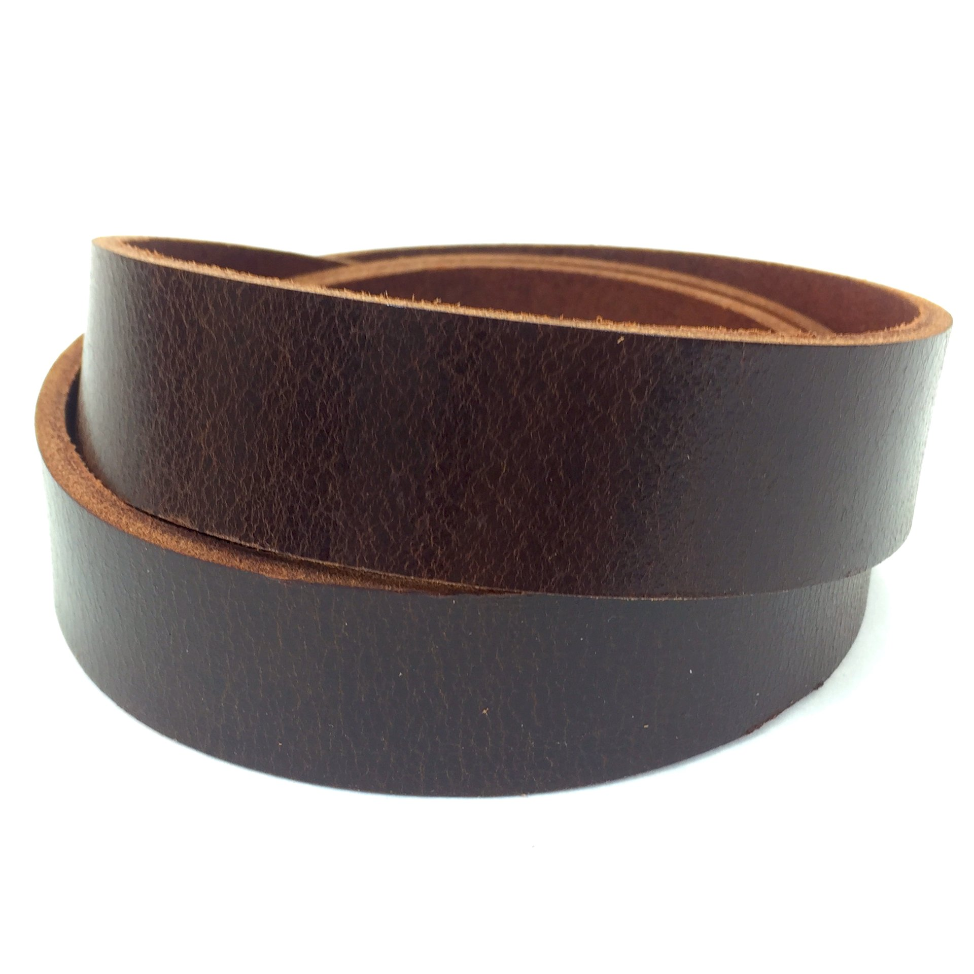 "Springfield Leather Company's Buffalo Leather Strips (1-1/4"", Antique Mahogany)"