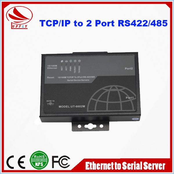 Hot Sale E1 to Ethernet Converter UT6602M Ethernet TCP/IP to RS232/485/422 Serial Device Server