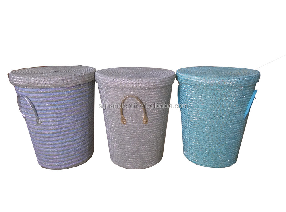 wholesale seagrass basket designer home decor handicraft importers in China