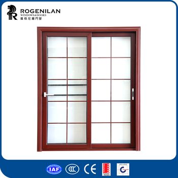 Rogenilan 80 Series Waterproof Bathroom Aluminum Sliding Glass Door ...