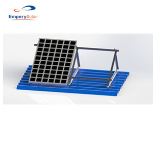 Metal Sheet Roof Triangle Solar Home Mounting System