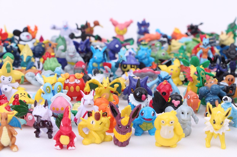 144style Pokemon Teddy Toys Mini Pvc Figure Pokemon Figure Small ...