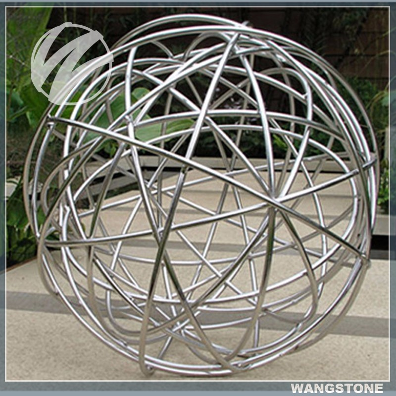 Metal Decoration Wire Sphere Sculpture Buy Wire