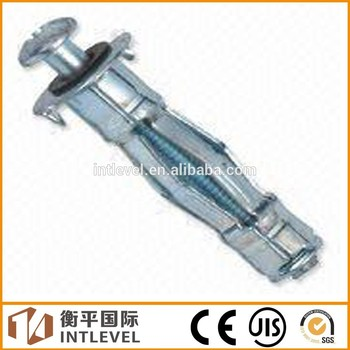 Metal Wall Anchors 2017 chinese supplier hollow wall anchor /cavity fixing metal with