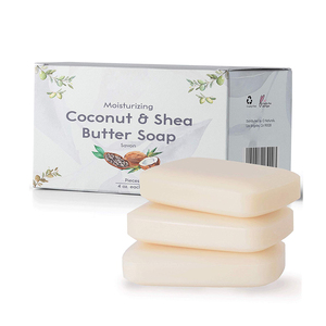 Moisturizing Organic Coconut Oil and Shea Butter Handmade Soap for Face and  Body Wash