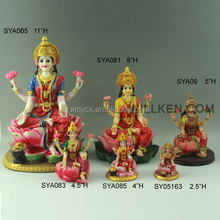 resinic hindu god lakshmi statues for sale