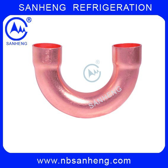 Refrigeration Pipe Fitting Copper Return U Bend