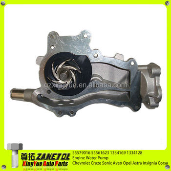 55579016 55561623 1334169 1334128 Engine Water Pump For Chevrolet