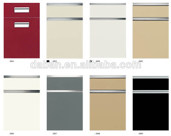 kitchen cabinet door material best material for modular kitchen high gloss waterproof 18561