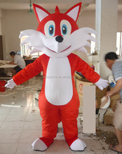 cute adult plush animal costume animal costume for adults red fox mascot costume