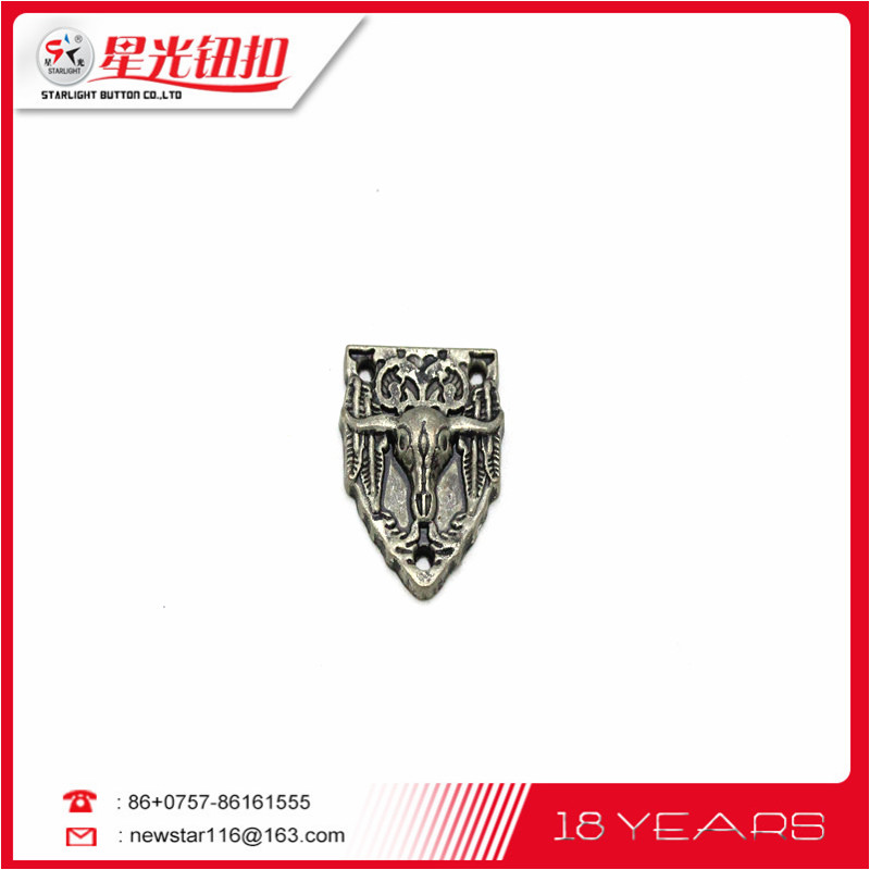 factory manufacture wholesale cross alloy garment accessory pendant alloy lable