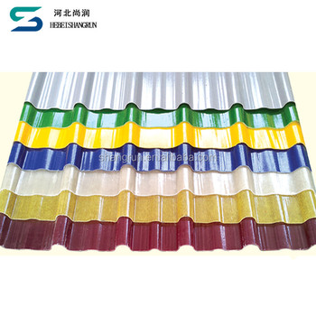 Colorful Corrugated Fiberglass Frp Roofing Sheets Panel