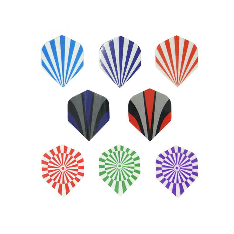 Dart accessories/tools, customize PET dart flights for steel darts set