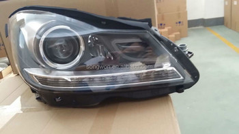 For 2011 2012 2013 2014 C Class W204 Xenon Headlight With Led - Buy For  W204 Headlight,W204 Headlight,Mercedes W204 Headlight Product on Alibaba com