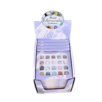 Yase 20pcs/box Healing Rock Stone Set Power Natural Rough Tumble Gemstone  Wholesale Natural Stone Collection - Buy 20pcs/box Healing Rock Stone