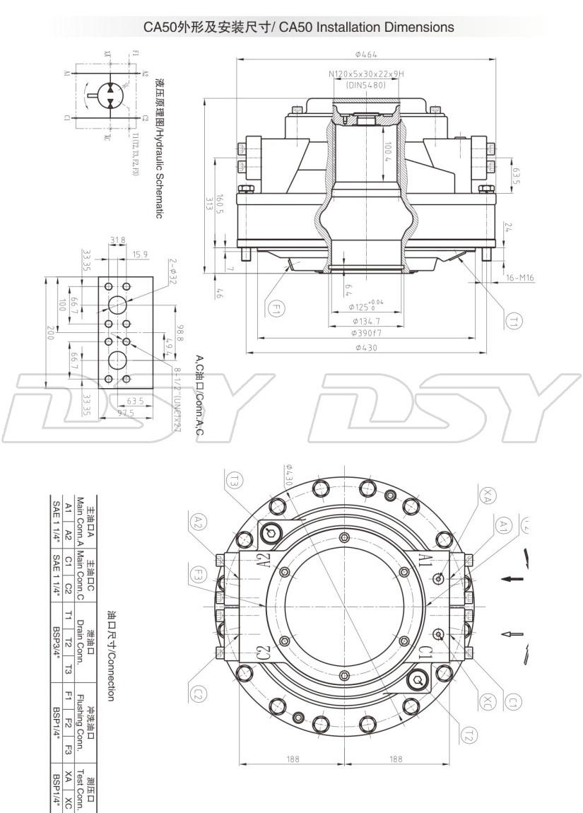 HTB120ocRXXXXXckXpXXq6xXFXXXw hugglands ca50 ca70 ca100 ca140 ca210 hagglunds hydraulic motor  at gsmx.co