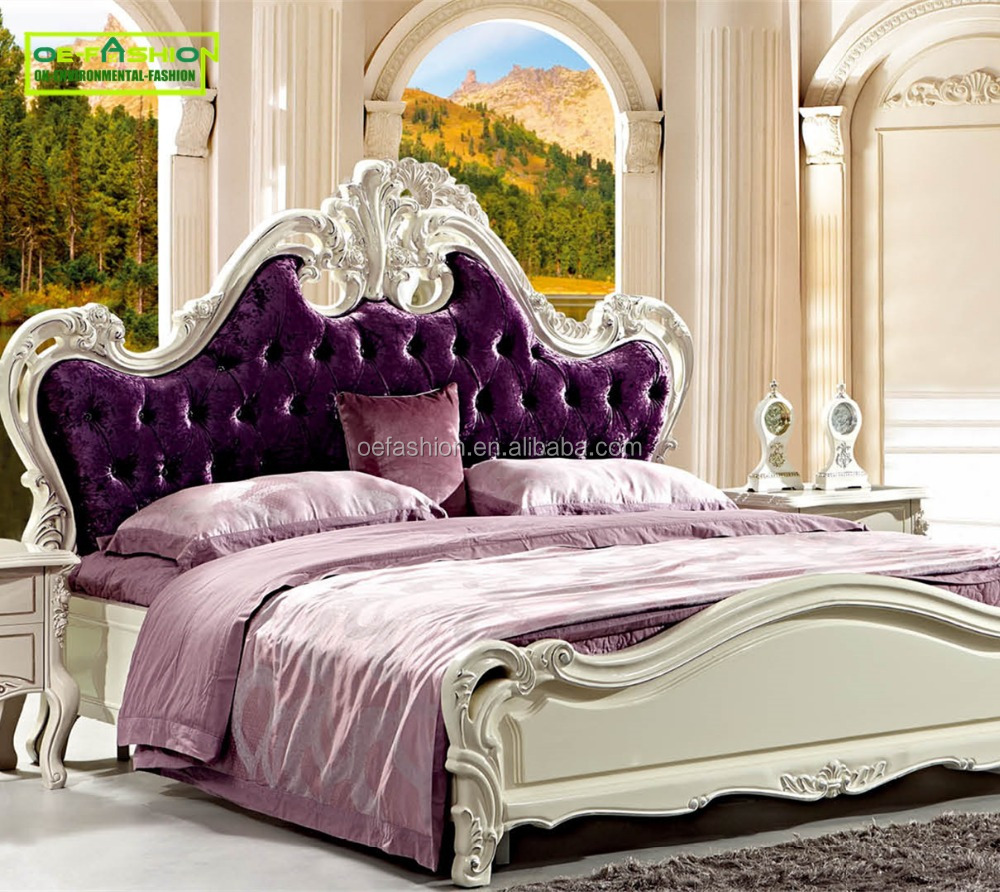 OE-FASHION Elegant Home furniture Queen King size <strong>Bed</strong> T07