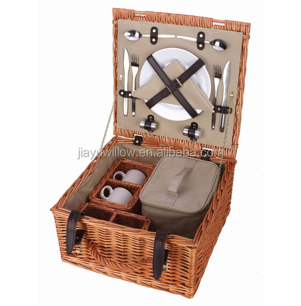 cheap wicker picnic basket set mini picnic basket picnic basket for 2 persons