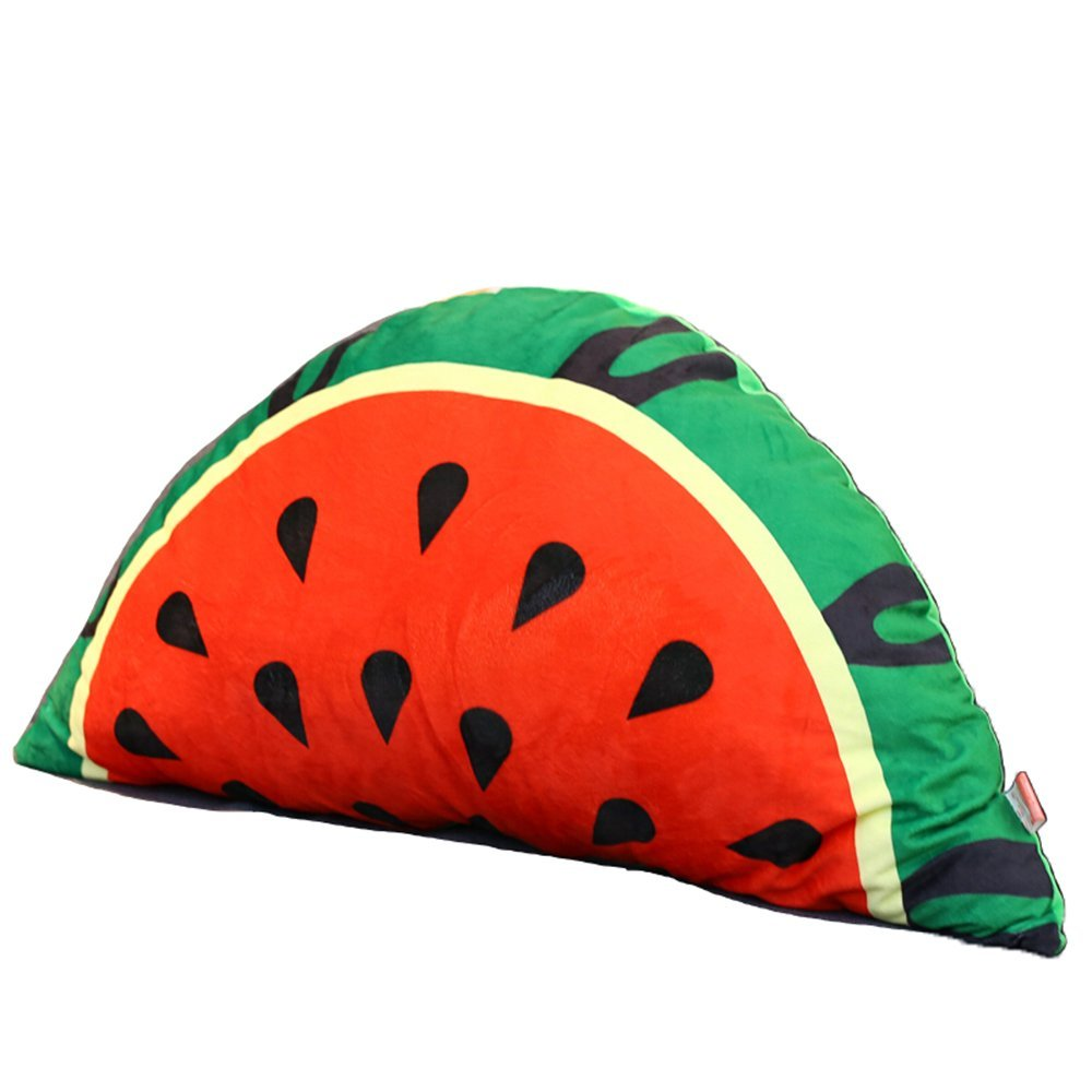 Fruit cushions / cartoon bedside cushions / children's bed pillow / princess bedroom bed / removable large backrest /
