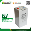Bluesun 2v 300ah rechargeable lead acid vrla battery for power storage