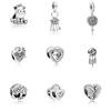 Klein Jewelry New Design Fancy Fashion Heart Dream Catcher Unicorn 925 Silver Charm Bracelet 797670