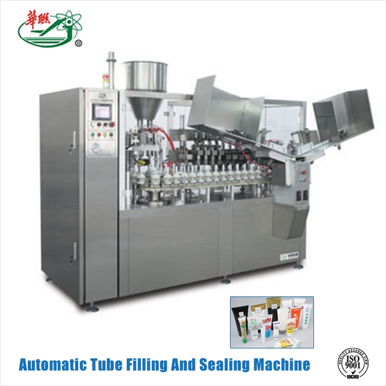 HUALIAN Chinese Company Manufacture Automatic Aluminum Tube Filler And Sealer Machine