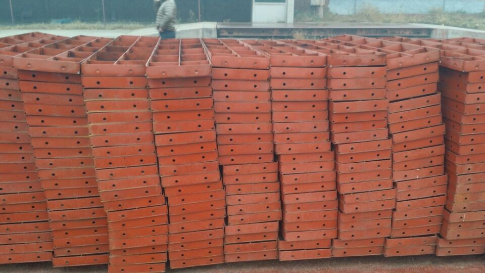 Steel Wall Form : Reusable wall slab steel formwork for concrete buy