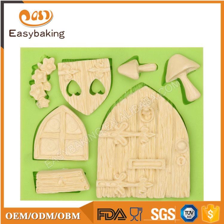 ES-4605 Cartoon Theme Silicone Fondant Cake Decorating Mold