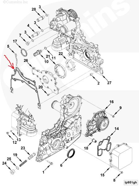 Wiring Cummins Diagram V8 300m