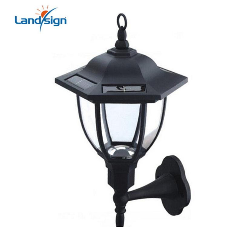 Cixi Landsign outdoor wall lights series solar lantern type XLTD-288 solar powered heat lamp