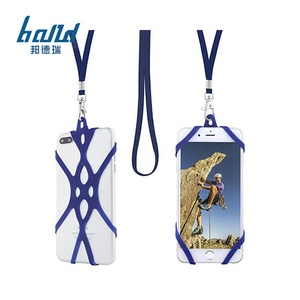 Cell Phone Case Custom Neck Strap Silicone Neck Strap