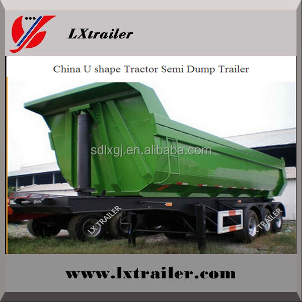 Cheap Soil Containing Waste Matter Transporting Vehicles, Dump Truck Trailers and Trailers