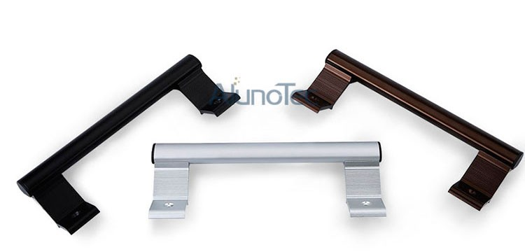 Aluminium Double Sided Outside Door Pull Handles