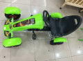 Free shipping 1pcs kids rider pedal powered kart car racing car via EMS