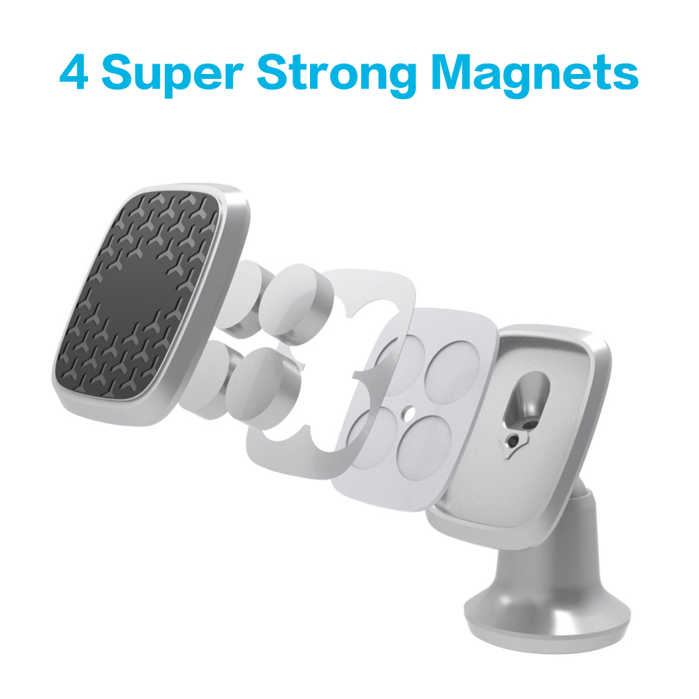 2019 cell phone accessories Magnetic Dashboard Car Phone Mount