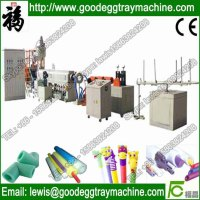EPE,epe Material and Foam Type sharp edge protector extrusion line