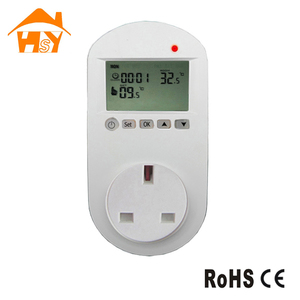 UK Socket Plug In Oil Heater Thermostat