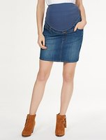 STRETCH JEANS MATERNITY SKIRT