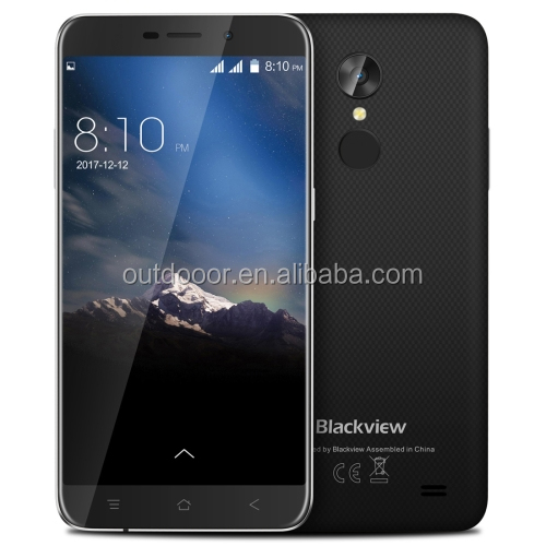 Best selling original unlocked Blackview A10 Face Fingerprint Identification 2GB+16GB Android 7.0 smart phone 3G mobile phone