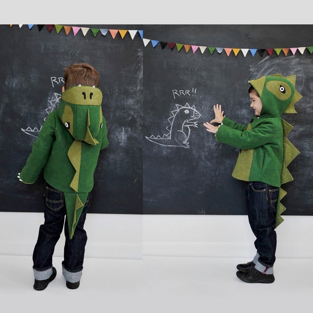 Compra Dinosaurio de los muchachos hoodies online al por