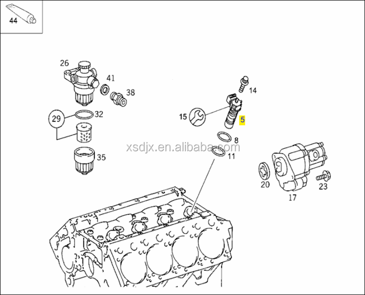 fuel injection pump and nozzle unit for mercedes benz