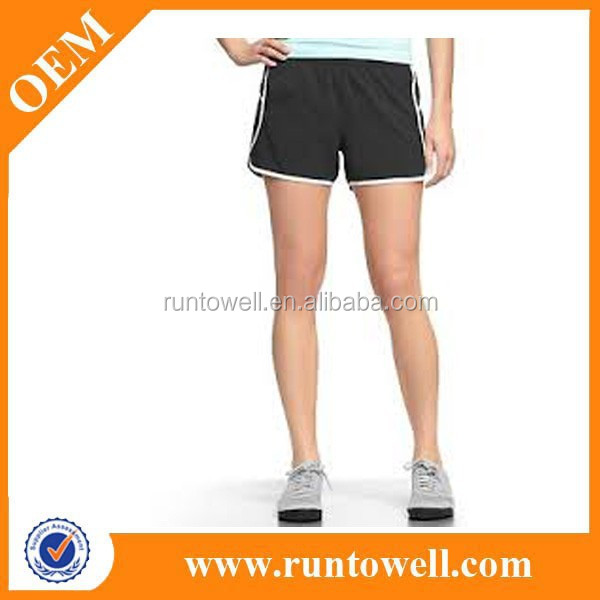 2014 New arrival polyester unisex sports running shorts