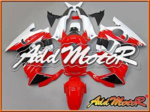 Addmotor Injection Mold Fairing Fit F3 CBR600 1995 1996 Plastic Red White H3521