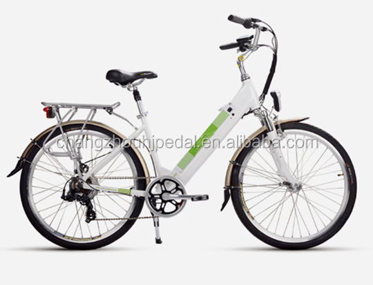 700CC el-cykel with battery in frame for Danish market